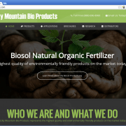 Rocky Mountain Bio Products Web Design
