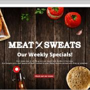 Meat Sweats Web Design