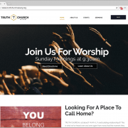 Truth Church Web Design
