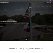 The Ellis County Gingerbread House